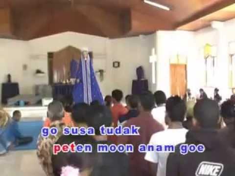 Lagu Paskah Daerah Flores Larantuka maria Senaren video