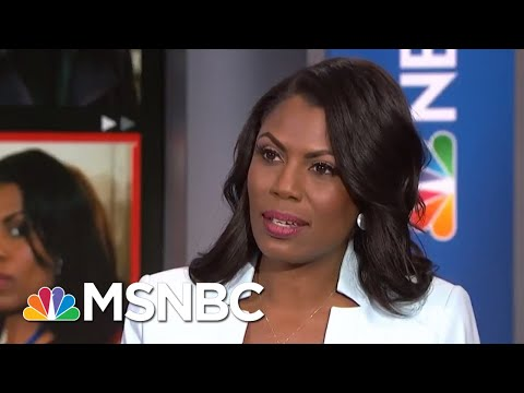 Omarosa: Recording Of Trump Shows Just How 'Unhinged And Inappropriate' He Is | Craig Melvin | MSNBC