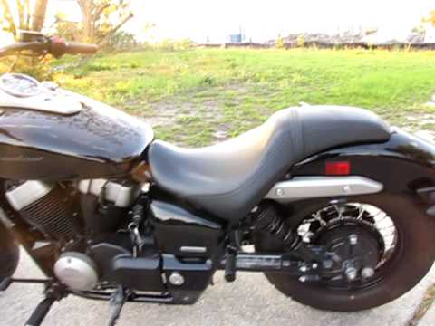 2010 Honda Shadow Phantom Video