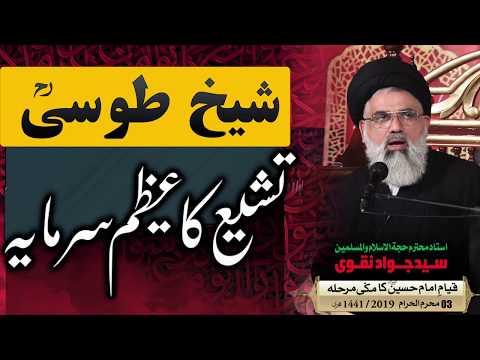 Sheikh Toosi (ra) ,Tashayyu ka Azeem Sarmaya || Ustad e Mohtaram Syed Jawad Naqvi