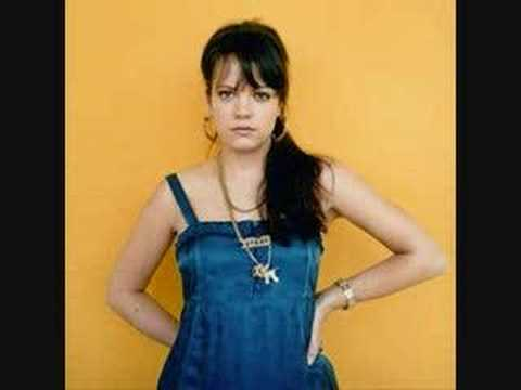 Lily Allen - Nan You&#039;re A Window Shopper + Lyrics