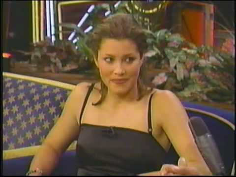 Jessica Biel on Tonite Show   (1999)
