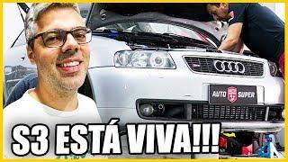 Audi S3 Ligando depois das Modificações! #pennenosubaru