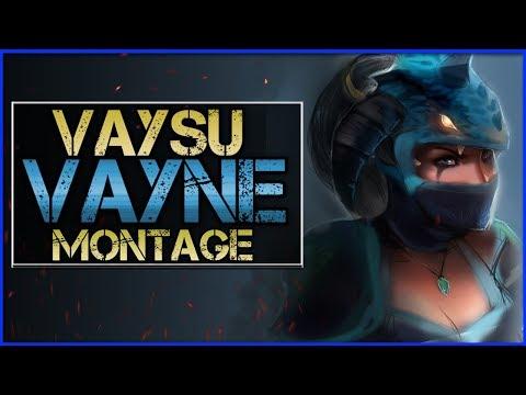 "Vaysu ""Vayne Main"" Montage - Best Vayne Plays   League Of Legends"