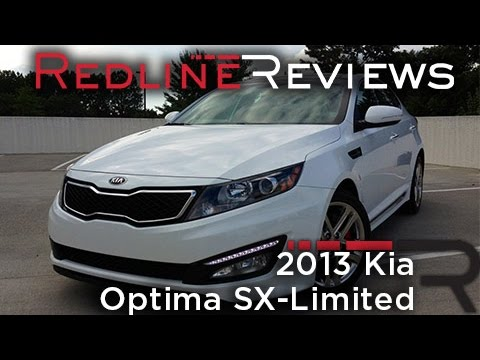Redline Review: 2013 Kia Optima SX-Limited