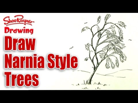How to draw Trees - Narnia style