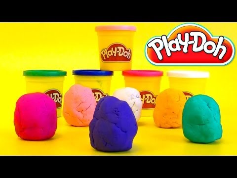 Playdoh Surprise Eggs Huevos sorpresa Mickey Mouse, Hello Kitty, Snoopy, Dora by lababymusica