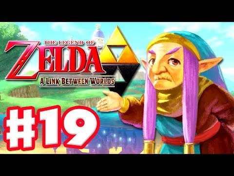 The Legend of Zelda: A Link Between Worlds - Gameplay Walkthrough Part 19 - Hyrule Hotfoot (3DS)