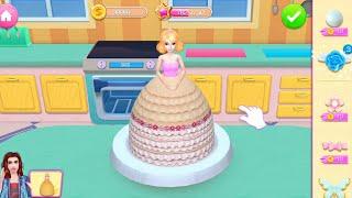 Permainan Masak Masakan - Mainan Anak Perempuan Membuat Roti Cake Putri Kerajaan - My Bakery Cake