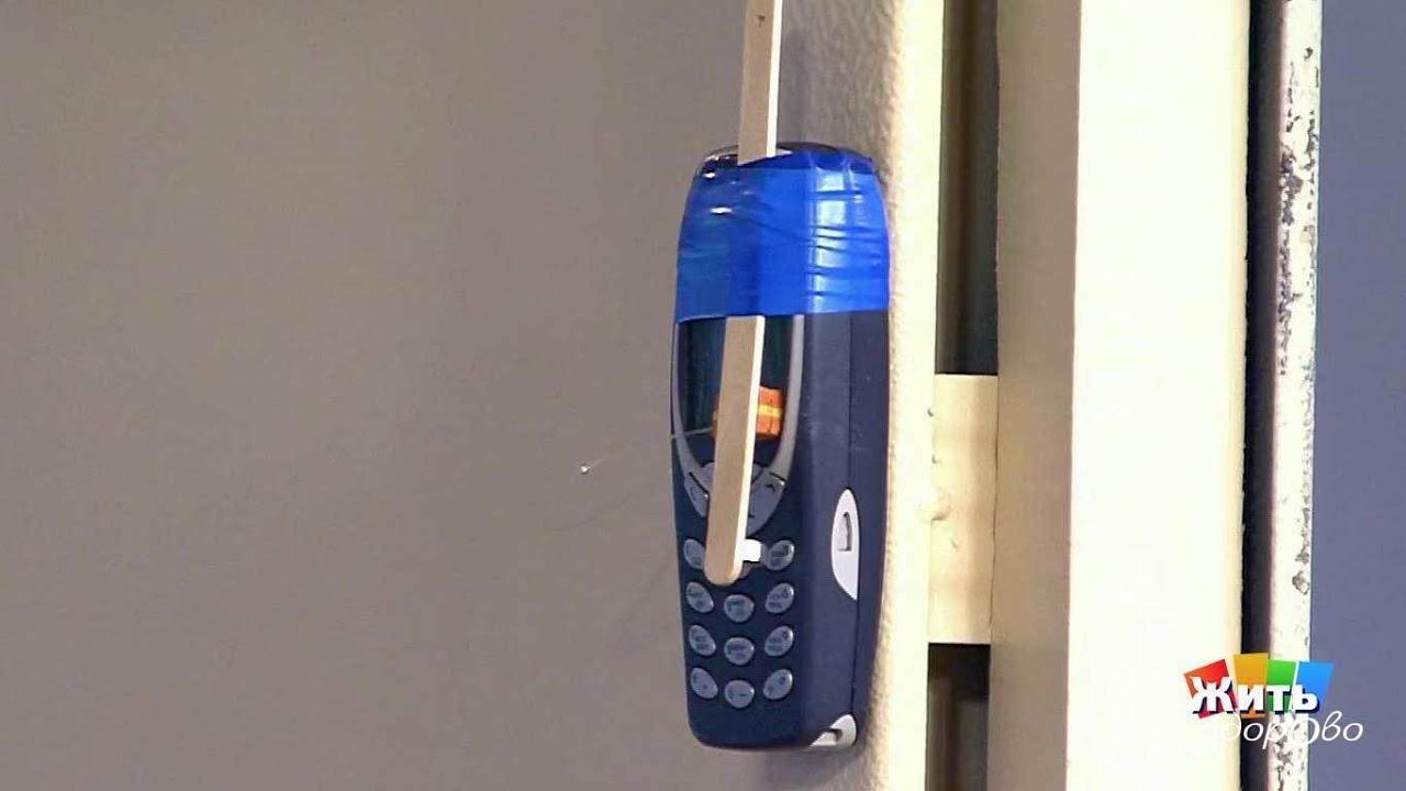 Сигнализация из мобильного телефона своими руками (в гараж) 35