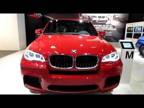 2013 BMW X5 M, обзор, Монреаль 2013