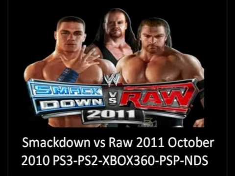 wwe raw roster. Smackdown vs Raw 2011 Roster