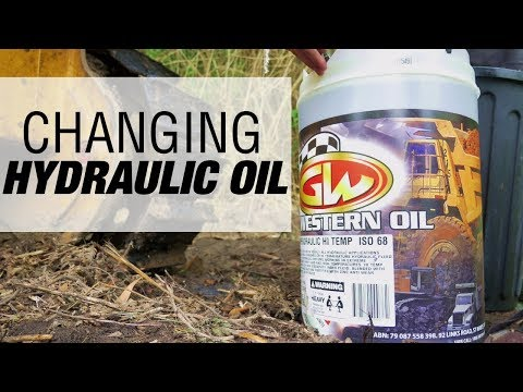 How to Change Hydraulic Oil in Heavy Machinery