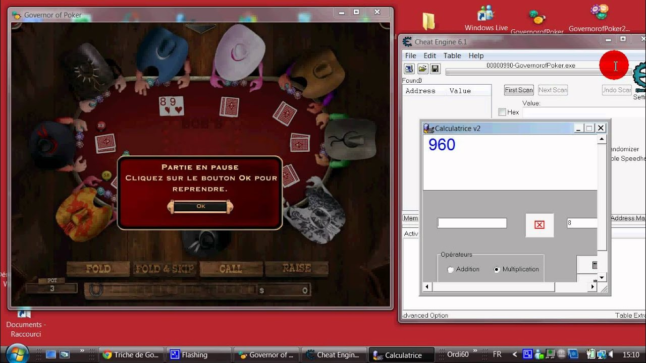 cheat engine how to use tables