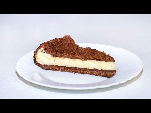 Торфяной пирог с творогом. Творожно-шоколадный торт. Рецепт.
