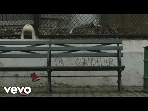 Sia - Chandelier (LYRIC VIDEO)