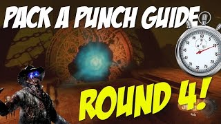 "Black Ops 3 Zombies: ""Shadows of Evil"" - PACK A PUNCH GUIDE (How To Pack A Punch at Round 4)"