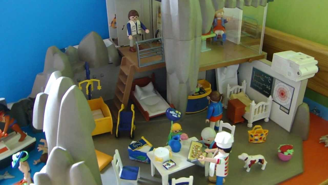 Playmobil top agents film movie transformation youtube for Maison playmobil 4279