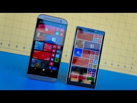 HTC One M8 for Windows vs Lumia Icon