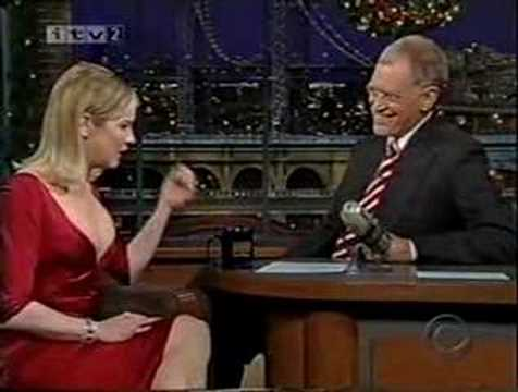 Renee Zellweger on Letterman--Cold Mountain--Part 1