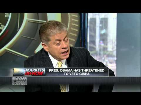 Judge Napolitano: CISPA Is A Direct Assault On Privacy