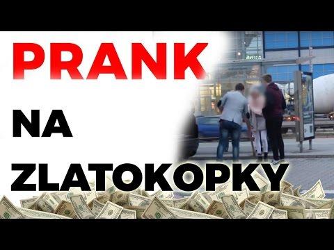 PRANK NA ZLATOKOPKY / GOLD DIGGER PRANK