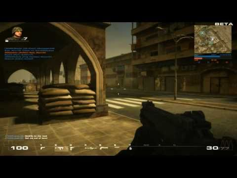 Battlefield Play4free - Open Beta April 4th - Gameplay and Commentary (in HD)