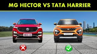 SUV comparison :MG Hector vs Tata Harrier -Detailed review