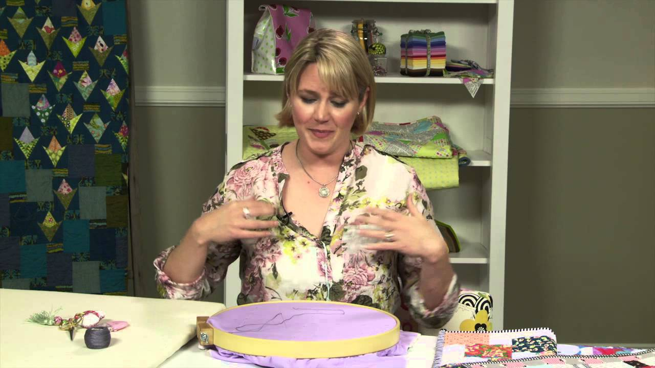 Hand Quilting With Perle Cotton With Sarah Fielke