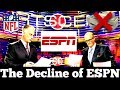 The Decline of ESPN... From $50 BILLION Dollar Empire to Potential DISASTER
