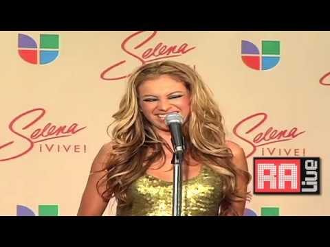 Paulina Rubio 'Selena Vive' Problemas Con Thalia