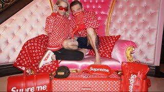 LOUIS VUITTON X SUPREME HAUL   Jeffree Star