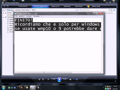 Windows Media Player 12 PER XP ITALIANO By Gioxers (only windows media player 11)
