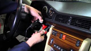 "How to ""Unstick"" a Stuck Ignition Key on a 1973 to 1995 Mercedes Benz"