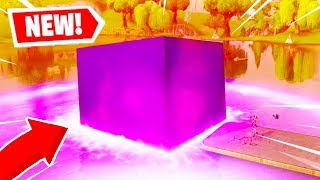 THE FORTNITE CUBE MELTED INTO LOOT LAKE! - LOOT LAKE CUBE EVENT (Fortnite Battle Royale)