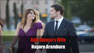 Xabi Alonsos wife Nagore Aramburu