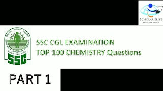 SSC CGL CHEMISTRY TOP 100 MCQ QUESTIONS PART 1