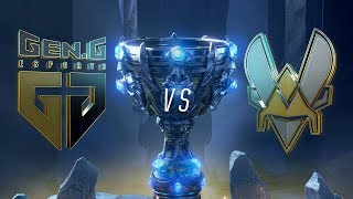 Mundial 2018: Gen.G x Team Vitality (Jogo 1) - Fase de Grupos - Dia 1