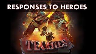 DOTA 2   Techies responses to specific heroes - Subtitulos en español   Helga dgv