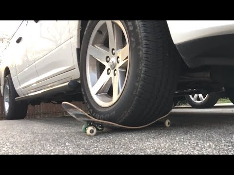 ReVive Skateboards Strength Test / Big Truck Parked On Top!