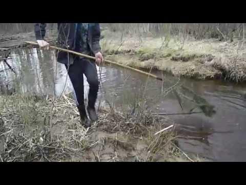 ловля подъемником видео