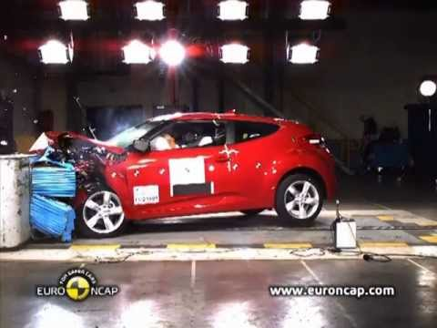 2012 Hyundai Veloster, краш-тест Euro Ncap