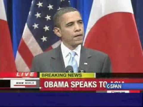 President Barack Obama Speech in Tokyo (2)