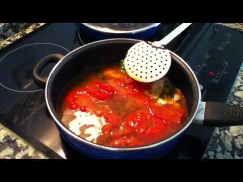 Recetas vegetarianas: Sopa de tomate - Recetas para sopas vegetarianas