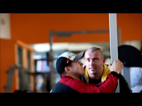 Katka Kyptova - Legs workout- preparation for AC 2011