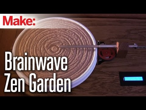 Making Fun: Brainwave Controlled Zen Garden