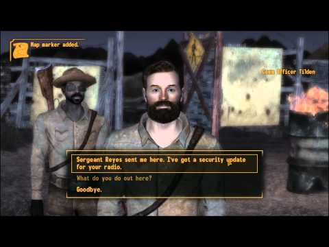 Fallout New Vegas Return to Sender part 3 of 5 Bravo and Charlie