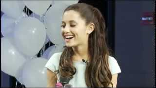 Ariana Grande z100 radio interview - New York 3/19/13