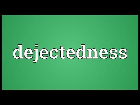 Header of dejectedness