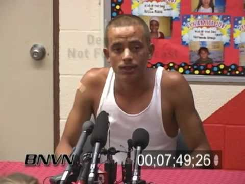 8/2/2007 Interstate 35w Bridge Collapse Press Conference With Kids From The School Bus